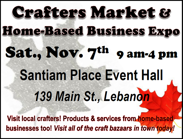 Crafters Market Poster