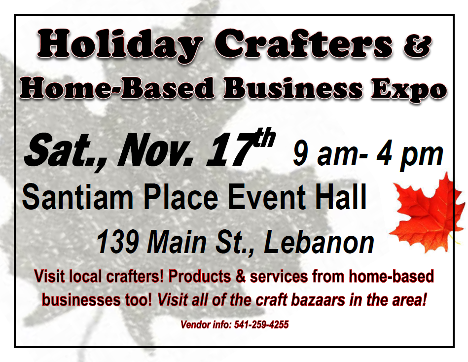 Crafter's Market & Home Based Business Expo