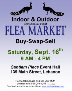 Santiam Place Flea Market