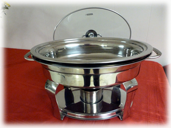 Santiam Place - Round Food Warmer