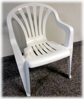 Santiam Place - Resin chairs